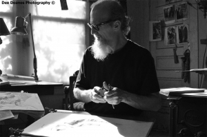 Thomas-creating-Art-B&W-copyright